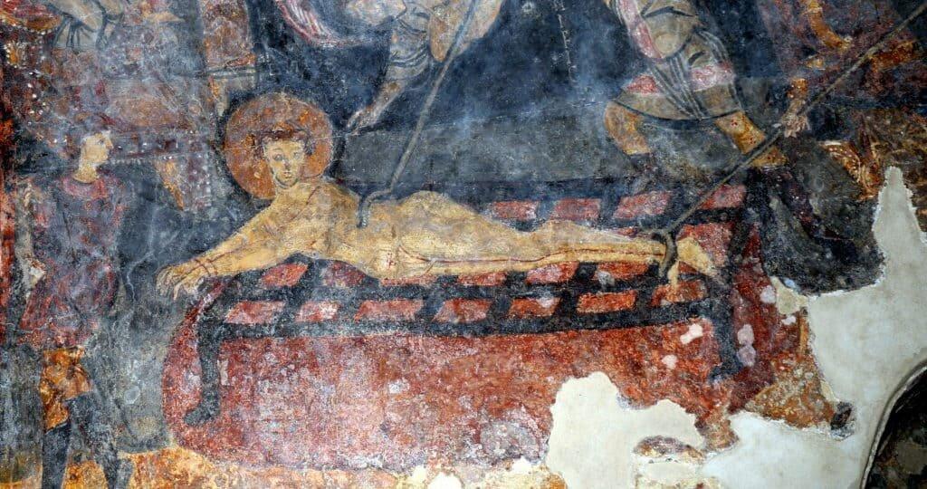 affresco cripta