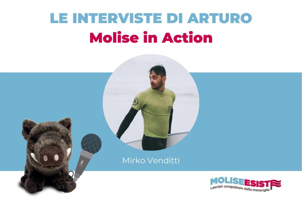 intervista mirko venditti di molise in action